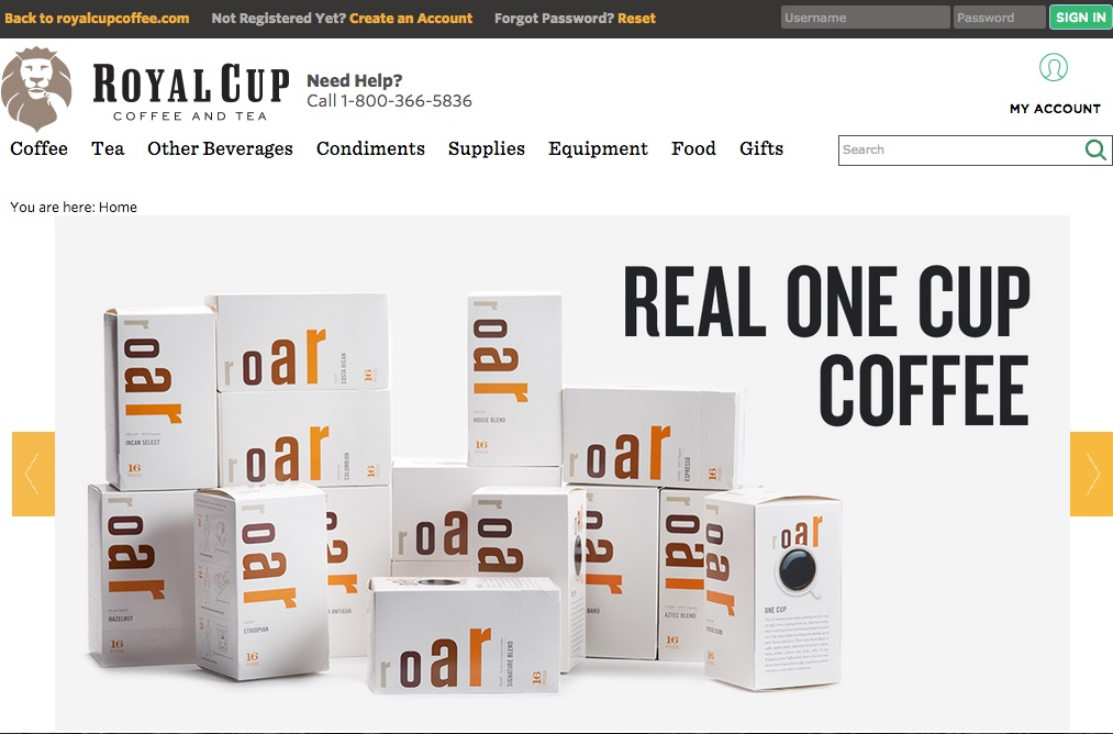 From There You Will Be Taken To A Separate Online Platform Shoproyalcupcoffee Here Can View All Our Coffees Teas And Other Beverages That Are